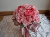 ピンクの八重ロココ