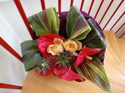 アンスバラハワイアンフラッグ花束
